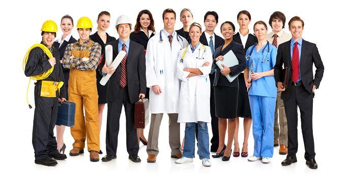 Tipai Karjera Rūšiuoti pagal pramonės ir darbo vietų