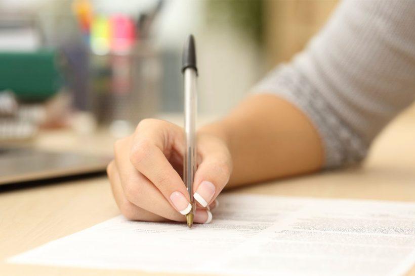 Co je třeba zahrnout do těla sekce průvodním dopisem