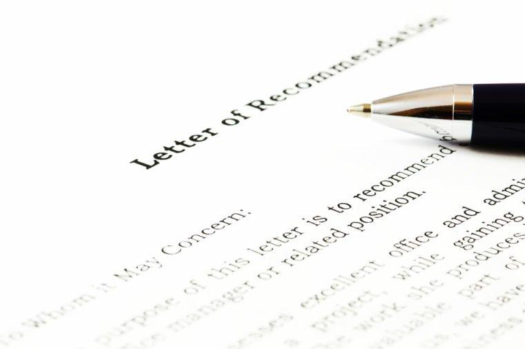 Näide Soovitus kiri õpetajale