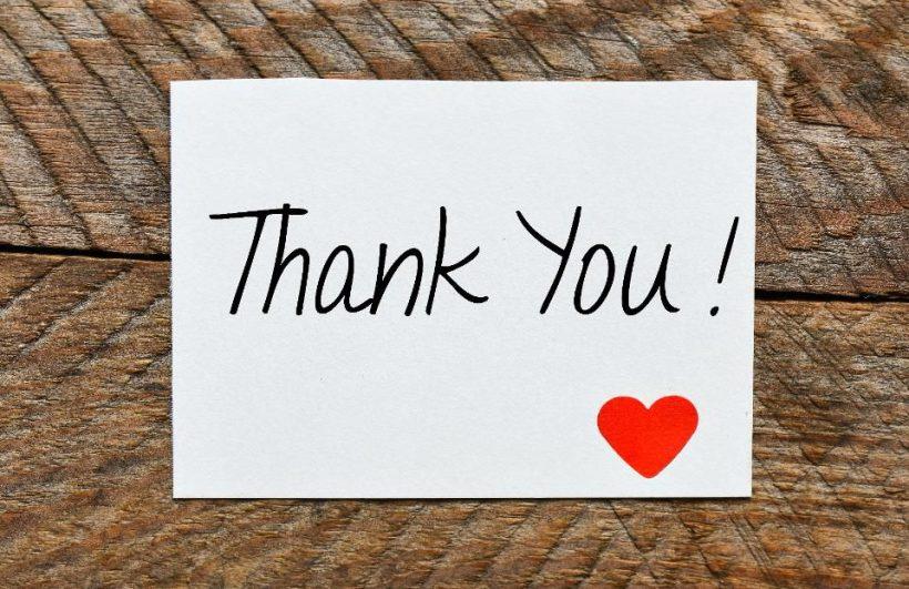 Собеседование Благодарственное письмо Примеры