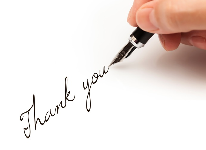 Generelt Takk Letter Prøver og skriftlig tips