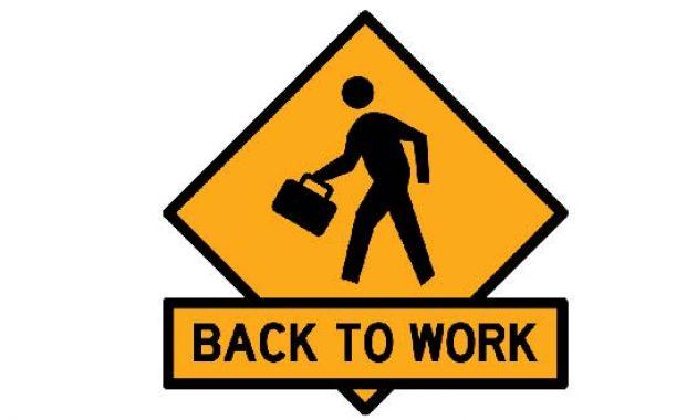 Hvordan å gå tilbake til arbeid etter en karriere ødelagt